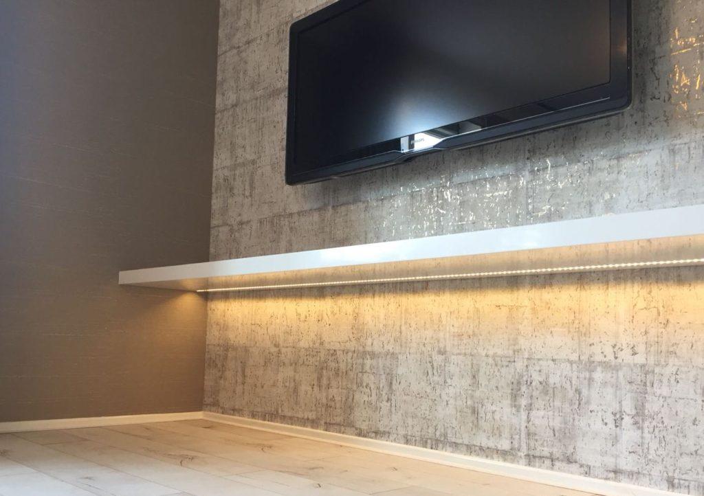 Blinde Wandplank Met Verlichting.Verlichting Blindewandplanken