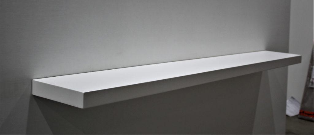 356) MDF wit gespoten Image